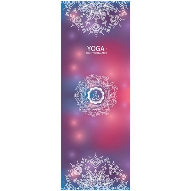 Portable Microfiber Yoga Mat Towel Non-slip Latex Particles Sweat Gym Fitness Blanket Slimming Sports Yoga Pilates Towel Mat chastep natural pvc yoga mat anti slip sweat absorption 183 61cm 6mm yoga pad fitness gym pilates sports exercise pad yoga mats