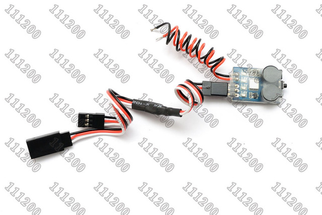 Signal Loss Alarm Loss Aircraft Quadcopter Finder with 2 6S RC Lipo