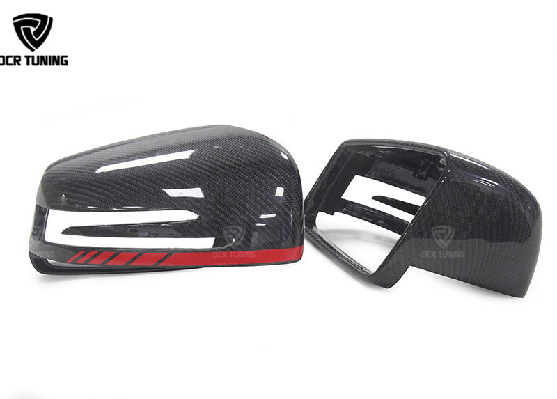 Mercedes Carbon Mirror W204 W207 W212 W176 W218 W221 Mercedes A C CLS E CLA Class Carbon Mirror Cover 1  1 Replacement (2)