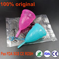 50 pcs /lot High quality menstrual cup for women lady cup menstrual 100% medical grade silicone feminine diva cup