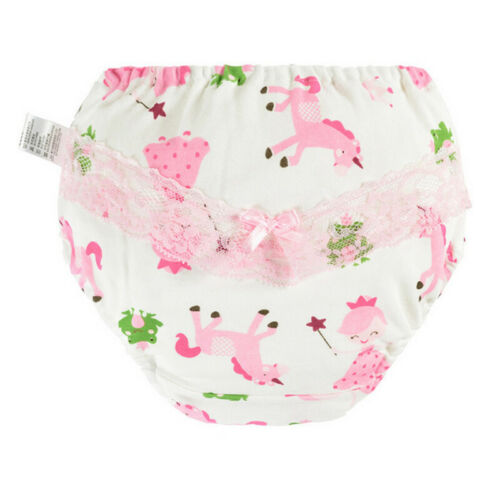 2019 Pudcoco Toddler Children Baby Girls Frilly Cotton Underwear Knickers Pants Wedding Christening Birthday Wholesale
