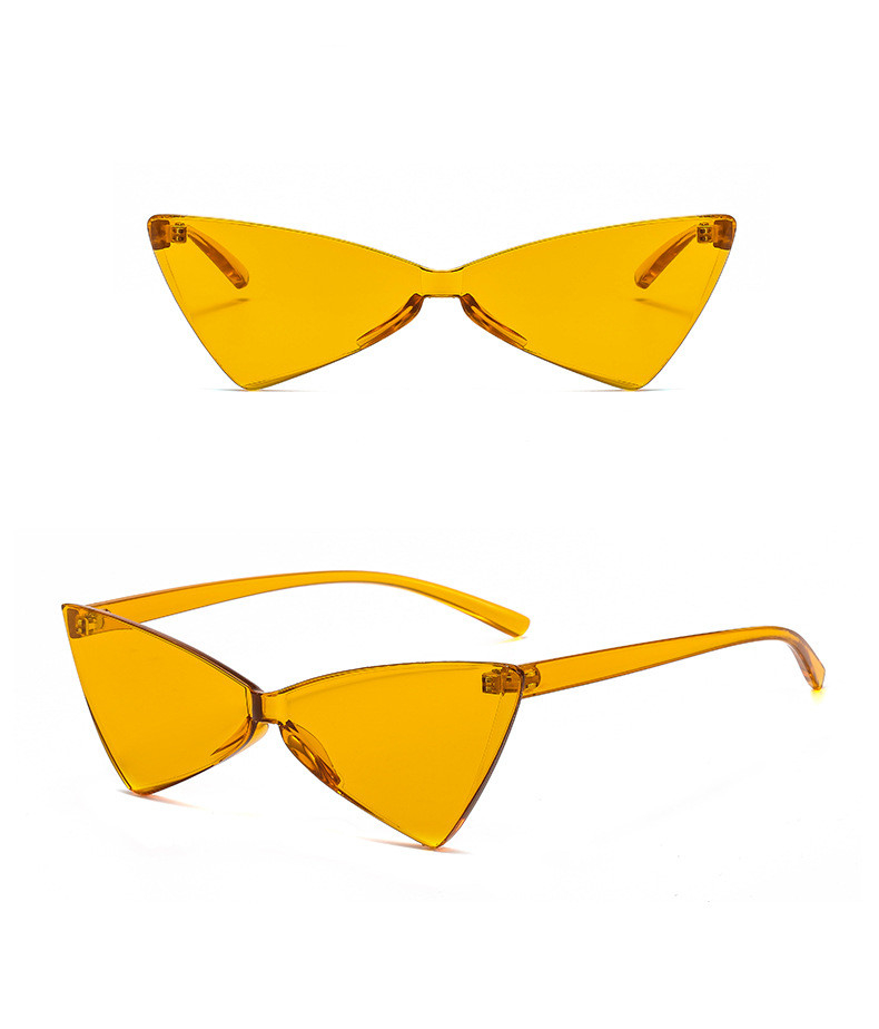 20f69922a9fbb NIRMAI Small Cat Eye Triangle Cute Sexy Retro Cateye Sunglasses ...