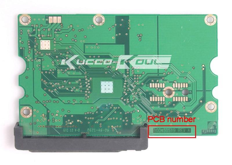 Hard Drive Parts PCB Logic Board Printed Circuit Board 100450519 For Seagate 3.5 SATA Hdd Data Recovery Hard Drive Repair