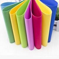 10pcs Lot 50 50cm Thickness Scrapbooking Crafts Paper Sponge Foam Paper For Flowers Decoration DIY Gift