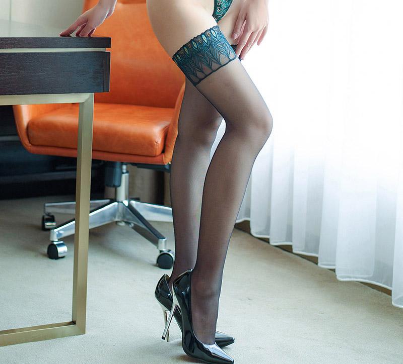 5f90fdeb12bbc red blue Women Girls Lady thigh high Heel Stockings fishnet Sexy ...