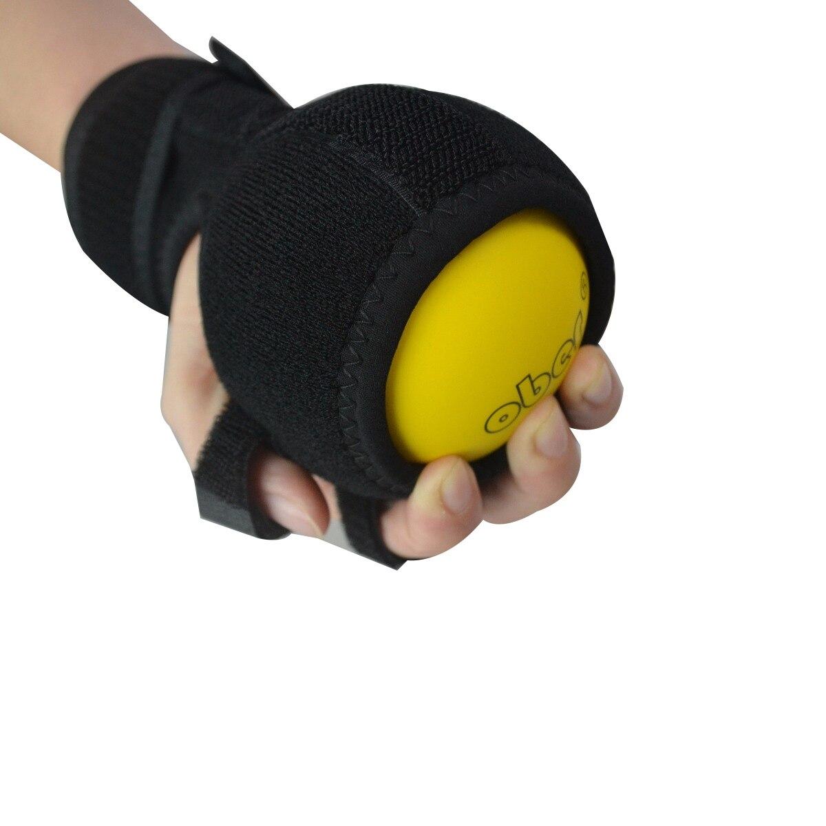 Heath Protect doigt forme main doigt correcteur poignet Support orthèse Anti-spasticité balle attelle doigt orthèse main balle