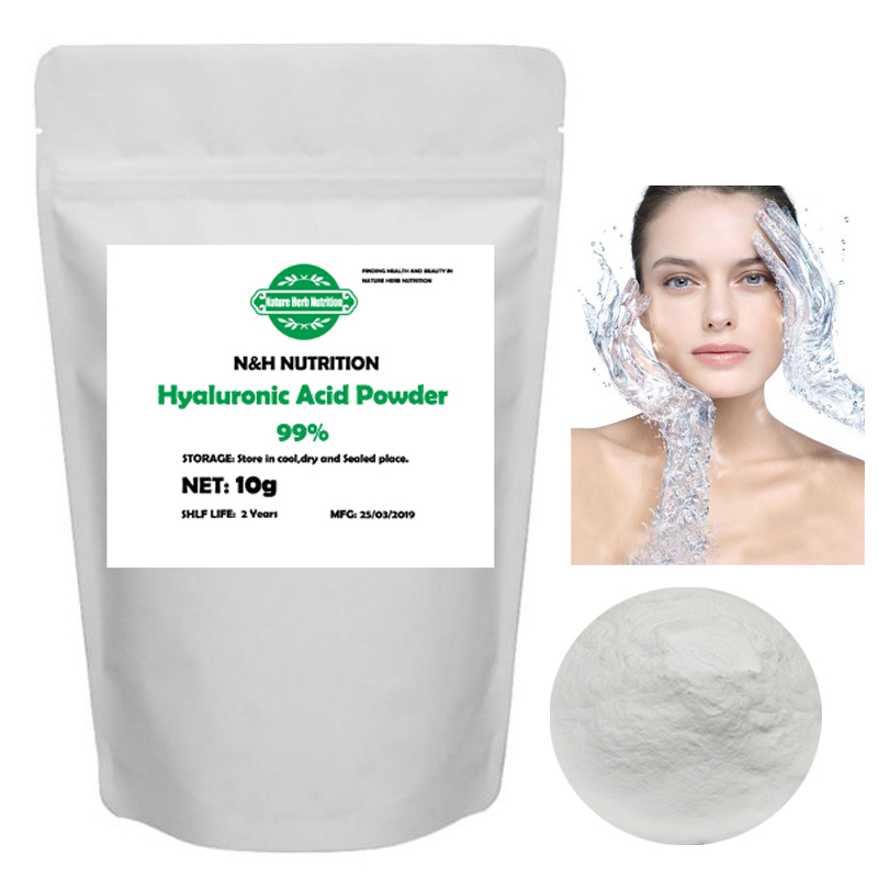 Best Quality Cosmetic Grade 99% Hyaluronic Acid Powder Anti-wrinkle And Anti-aging