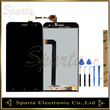 цена на 100% Tested LCD Display For ASUS Zenfone 2 Laser ZE500KL ZE500KG Z00ED LCD Display Screen With Touch Screen Assembly