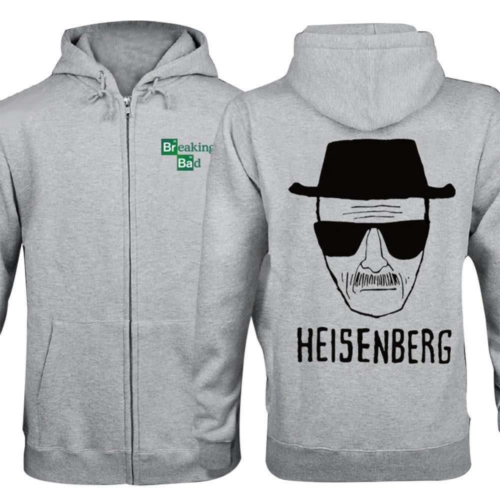 Breaking Bad Hoodies Sweater Cosplay Costume Cotton Jacket Coat Pullover Outwear