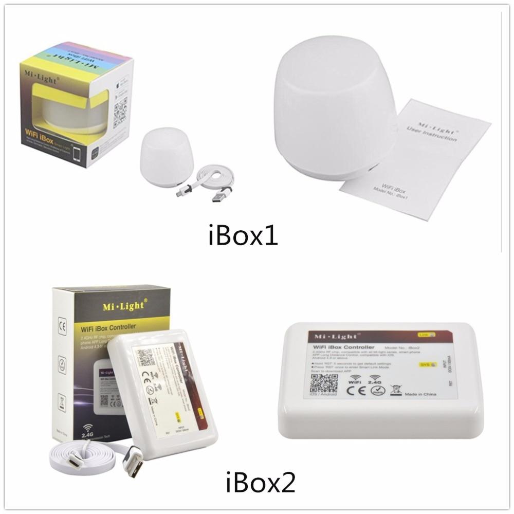 Mi.light Wifi iBox1iBox2 controller DC5V compatible with IOSAndriod system Wireless APP Control for CW WW RGB strip bulb