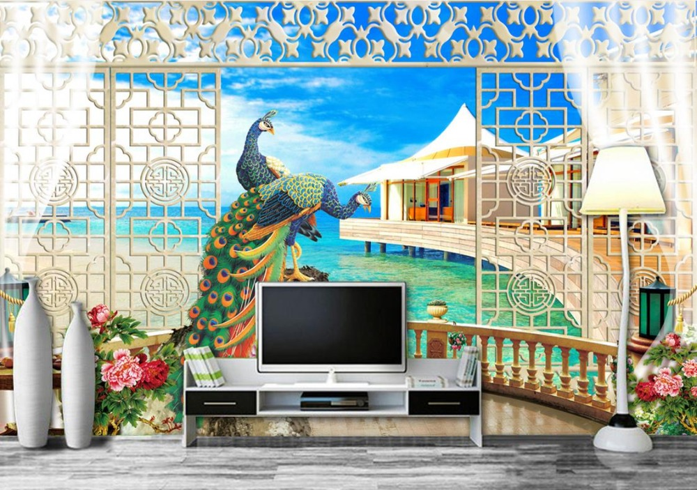 nature background wallpaper Custom 3d wall mural Sea View Mediterranean Sea mural for living room 3d stereoscopic wallpaper custom 3d hd modern photo wallpaper stereoscopic home background wall mural the aegean sea wallpaper for living room bedroom