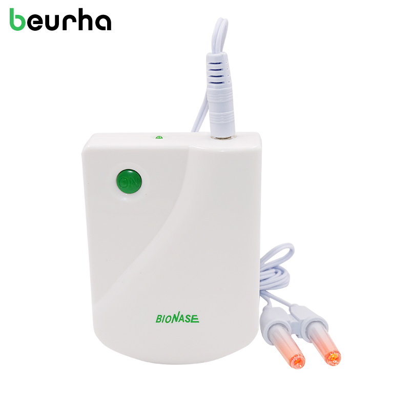 Beurha Proxy BioNase Nose Rhinitis Sinusitis Cure Therapy Massage Hay fever Low Frequency Pulse Laser Nose Health Care Machine new rhinitis therapy massage hay fever low frequency pulse and laser therapy instrument rhinitis treatment instrument