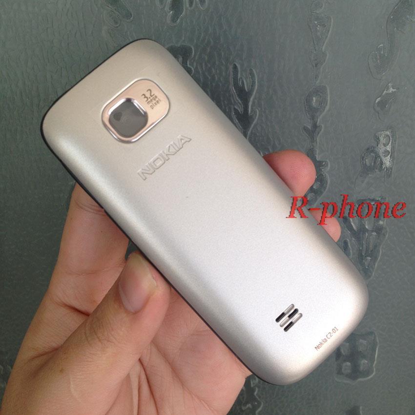 Nokia C2 C2-01 разблокированный GSM мобильный телефон восстановленные сотовые телефоны