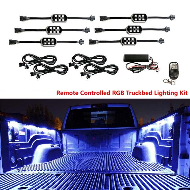 Gekleurde LED Auto interieur Underbody Neon Verlichting voor Pickup ...
