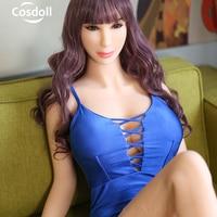 Cosdoll 158 см горячая Распродажа Реалистичная кукла для секса силиконовые секс куклы с большой грудью взрослые секс игрушки любовь кукла беспл