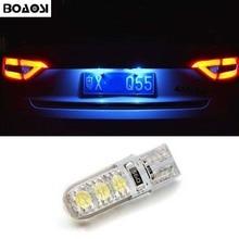 BOAOSI 1x T10 W5W LED Car Canbus bulbs t10 socket lamp license plate light for mazda 3 Axela mazda 6 mazda cx-5 ATENZA