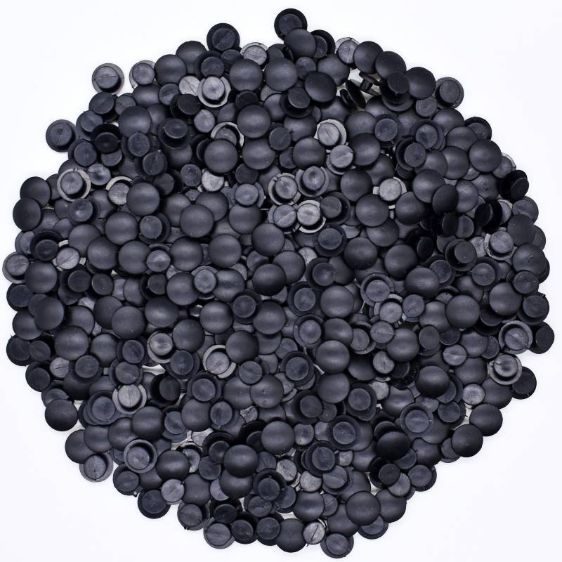 Wholesale Black Buttons Plastic Ornaments Fit Croc Charms Lightweight Kids DIY Accessories