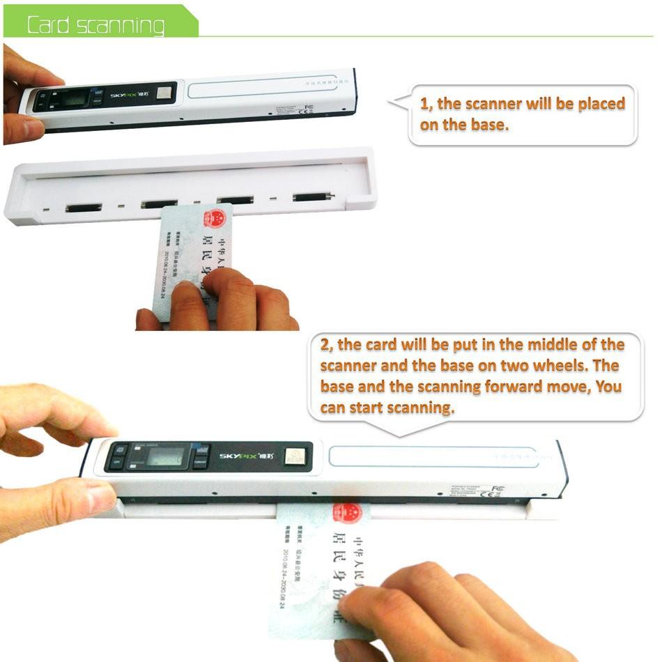 senniao portable scanner base Z01 (9)