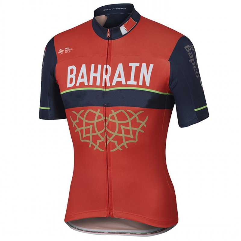 2017 Pro team BAHRAIN cycling jerseys summer Bicycle maillot breathable MTB Short sleeve bike clothing Ropa Ciclismo only new 2017 cycling jersey ropa ciclismo short sleeve summer breathable cycling clothing pro team mtb bike jerseys black