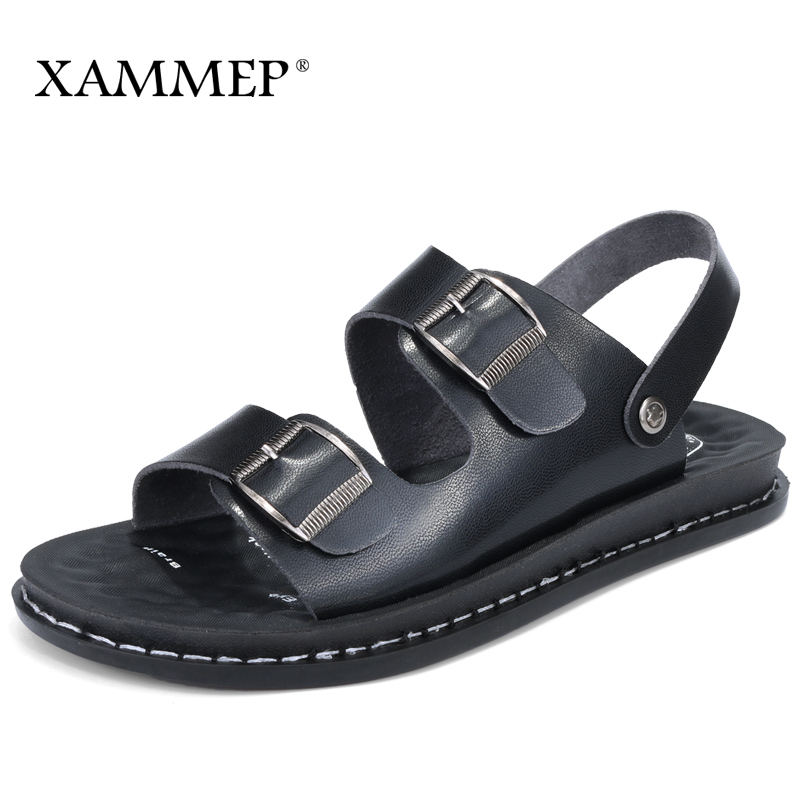 Xammep Women Summer Shoes Women Sandals Flip Flops Beach Sandals Genuine Split Leather Women Slippers Brand Casual Shoes Sneaker kit thule honda cr v 5 dr suv 12 штатные места