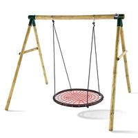 Homdox New Outdoor Comfort Durability Hanging Chair Large Hammock Chair Net Round Swing Kit N40