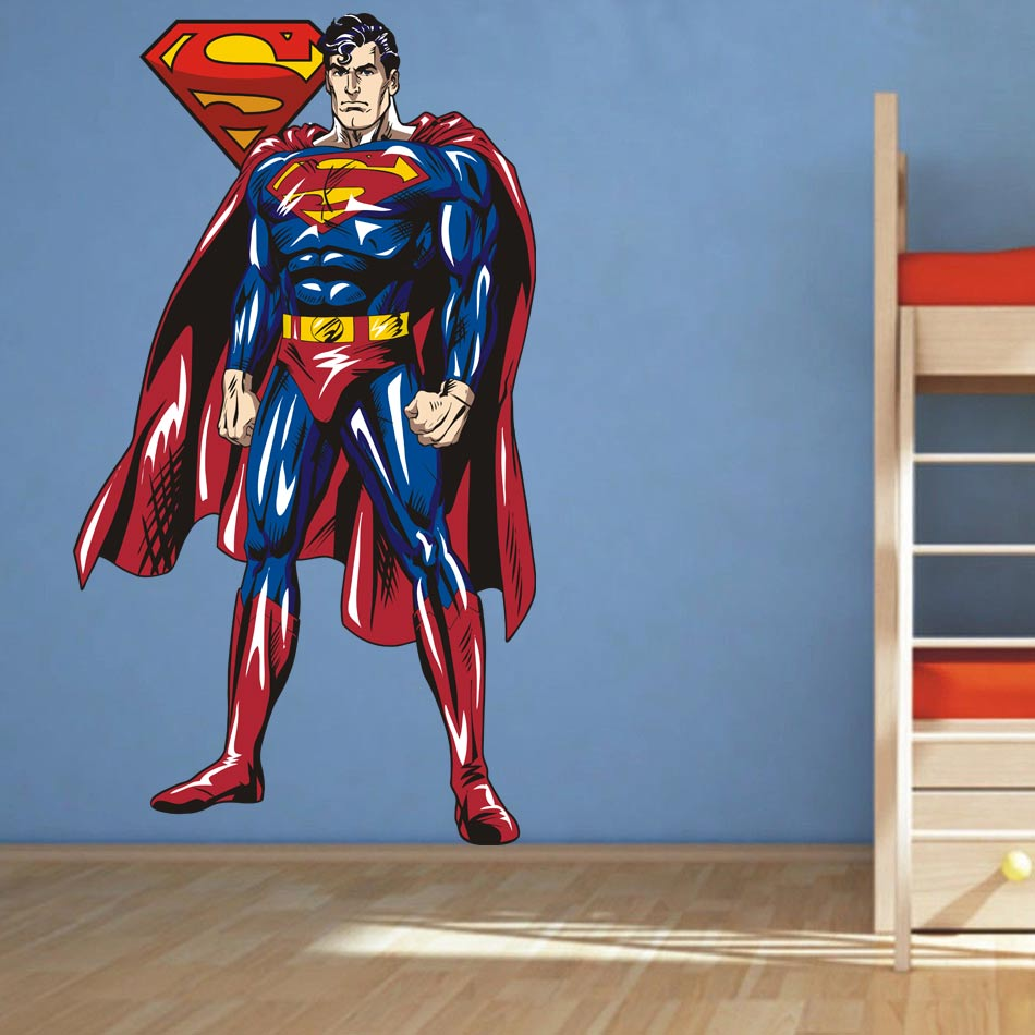 Sticker For Kids Room Picture More Detailed Picture About - Superhero wall decals for kids rooms