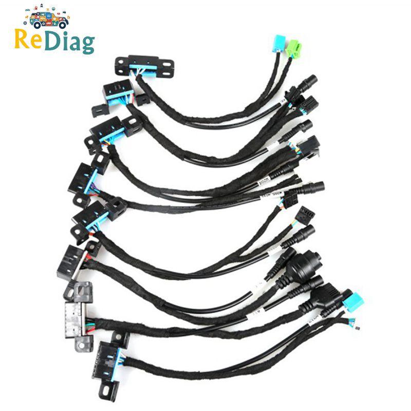 MB EIS/ELV Test hattı Mercedes kilitleri platformu 8 kablolar Test hattı W204 W212 W221 W164 w166 birlikte çalışır ile VVDI BGA