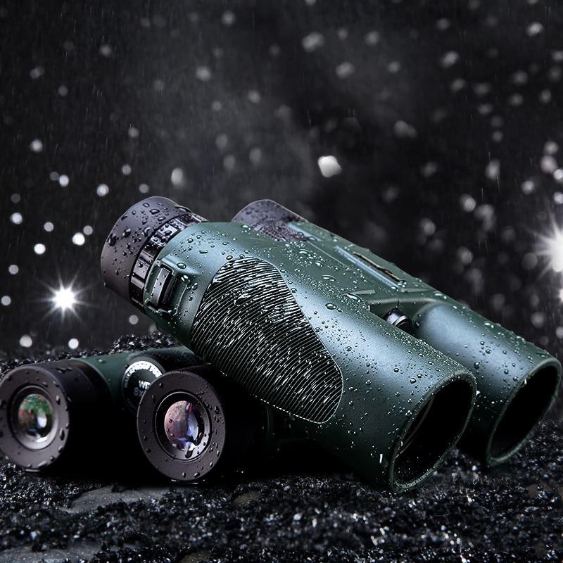 USCAMEL Military HD 10x42 font b Binoculars b font Long Range Professional Hunting Telescope wide angle
