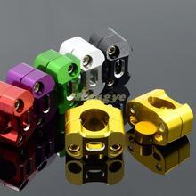 Universal CNC Aluminium 28MM riser handlebar clamps Fat bar clamps for pit bike dirt bike ATV quad motorcycle parts