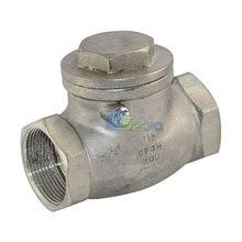 1 — 1/2 » обратный клапан 1000wog 200 PSI ру16 нержавеющей стали SS316 CF8M NEWGood качество