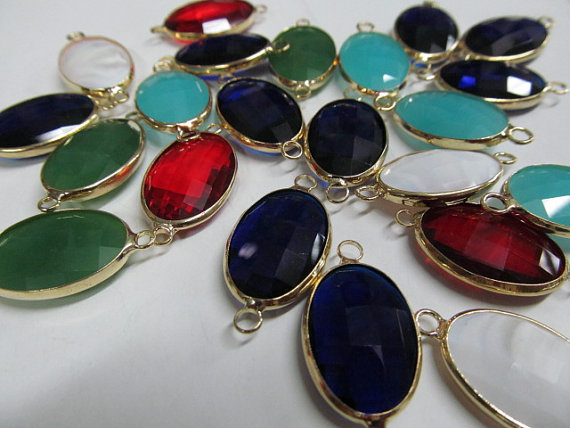 batch Crystal Glass Gem Brass fram Plated round coin triangle oval evil drop rectangle square Faceted assortment bead 50pcs 8-25batch Crystal Glass Gem Brass fram Plated round coin triangle oval evil drop rectangle square Faceted assortment bead 50pcs 8-25