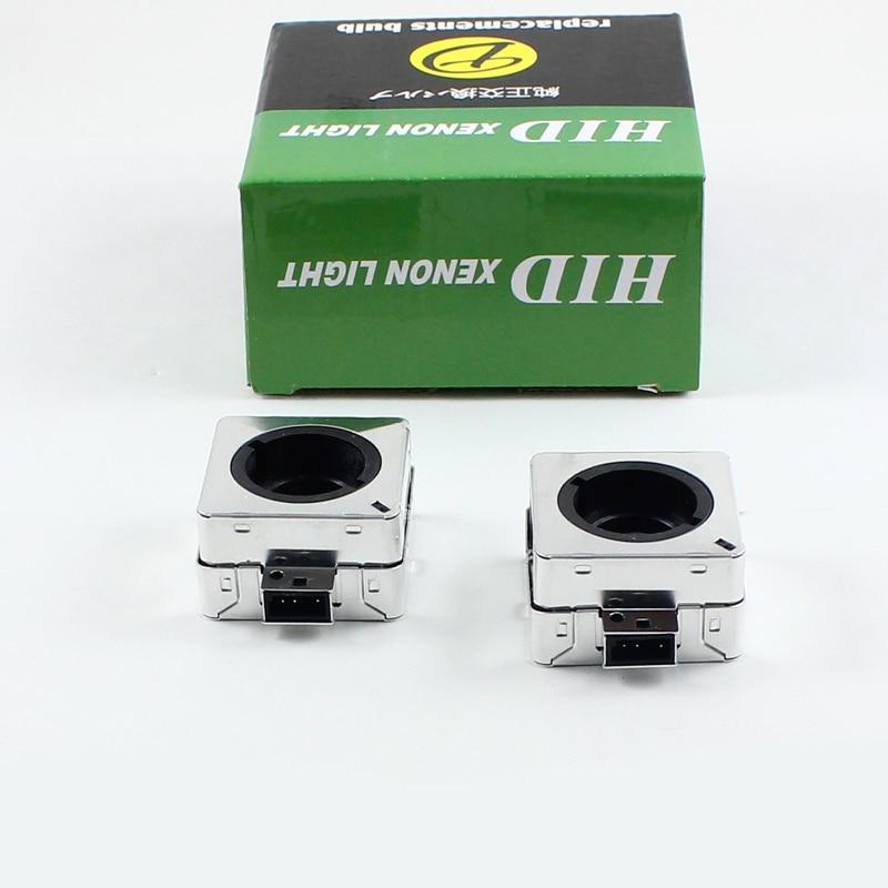 Rockeybright D1S gizli faralar üçün gizli ampul adapter xenon baş - Avtomobil işıqları - Fotoqrafiya 6