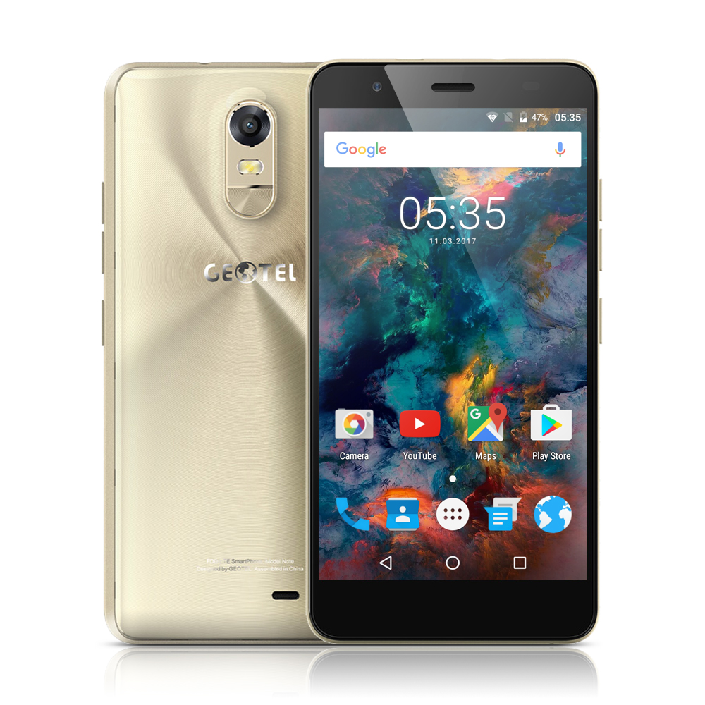 Original Geotel Note 4G Mobile Phone And