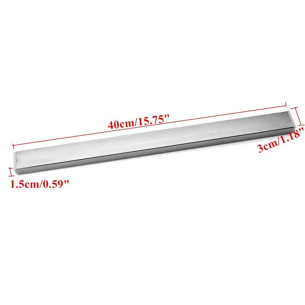 40cm Wall Mount Magnetic Cutter Storage Holder Rack Strip Utensil Kitchen Tools HYD88