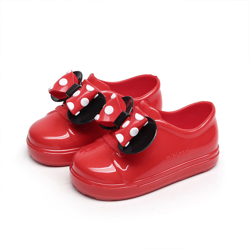 Children Shoes for Boys Girls Kids Sandals 2018 Summer New Fashion Brand Bowknot Sandal for Girl Boy Red Casual Kids Beach Shoes