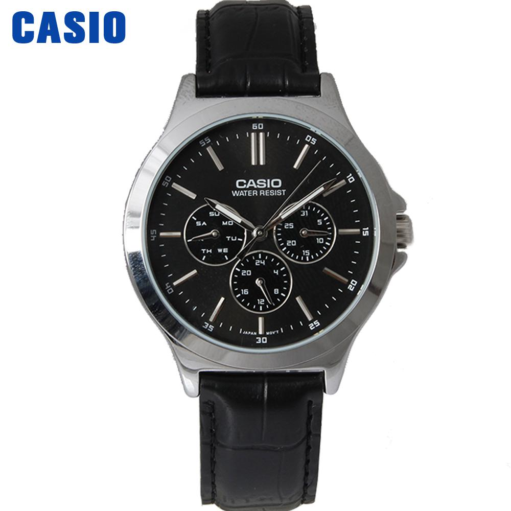 Casio watch Pointer series male watch fashion business watch quartz MTP-V300D-1A MTP-V300D-7A MTP-V300GL-9A MTP-V300L-1A casio mtp 1292d 1a