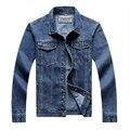 Plus Size Men's Denim Clothing Extra Large Man Denim Jackets Male Super Big Size Spring Autumn Denim Outerwear 6XL 7XL 8XL