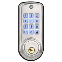 Barato Casa Inteligente Fechadura Da Porta Digital  À Prova D' Água Inteligente Keyless Senha e Código Pin Fechadura Da Porta Fechadura Trava Eletrônica|Fechaduras de portas| |  -