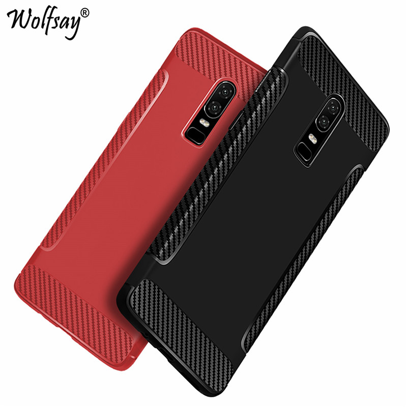 Oneplus 6 Case Silicone Back Case On Oneplus 6 Rugged Soft-touch Microfiber Case For Funda Oneplus 6 A6000 Cover 6.28