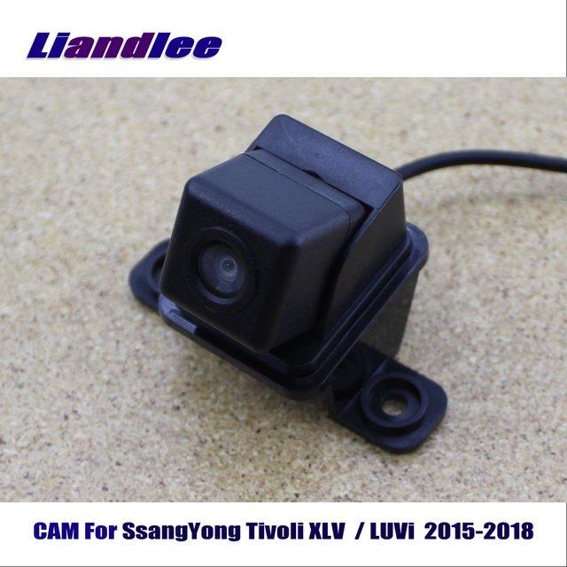 Liandlee CAM для SsangYong Tivoli XLV/LUVi 2015-2018/сзади автомобиля Камера заднего парковка Камера HD CCD Ночное видение