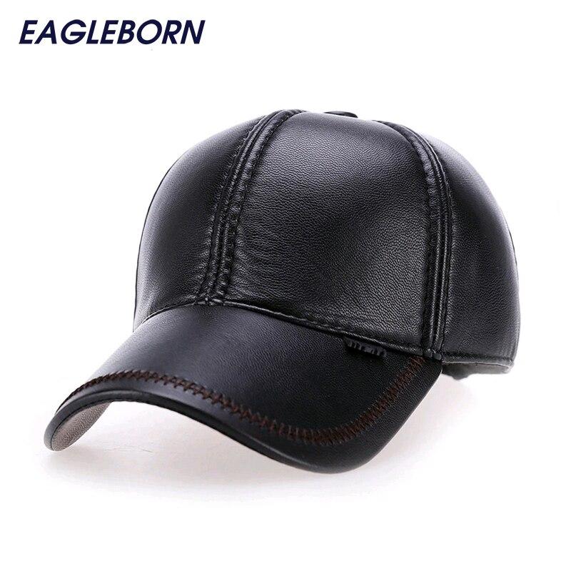 2016 Fashion Leather Baseball Cap s