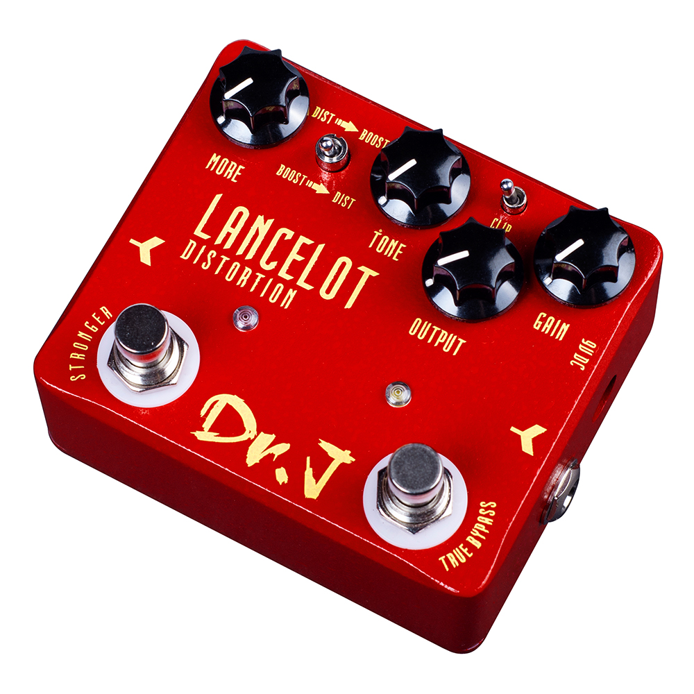 Dr. J LANCELOT Analog screaming distortion Electric Guitar Effect Pedal efeito True Bypass D-59 D59 dr j d53 sparrow driver di effect guitar electric bass overdrive pedal efeito true bypass free shipping