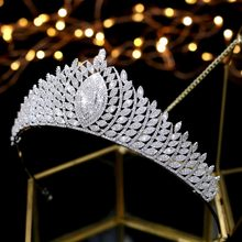 Corona ASNORA New Arrivals Casamento Tiaras Coroas Nupciais Jóias nupcial Do Casamento Acessórios Para o Cabelo tiara Coroas Quecess de boda