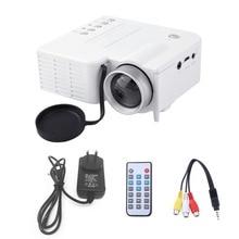 UC28A Mini Portable LED Projector 1080P Multimedia Home Cine