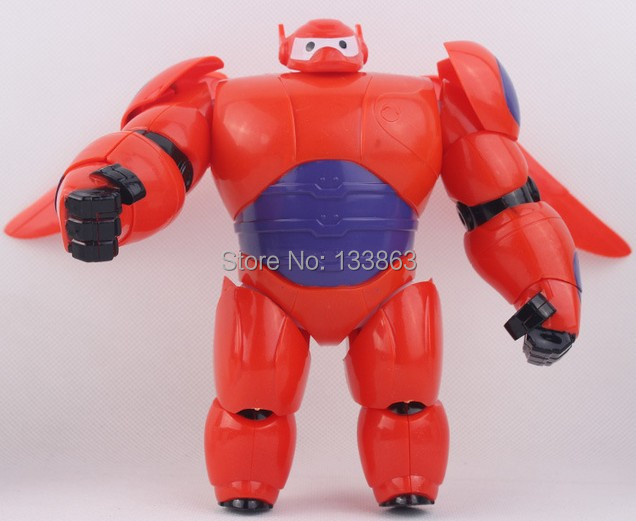 Kids Toys Action Figure: Big Hero 6 Toys, Baymax Figures Cartoon Model Toys, Action