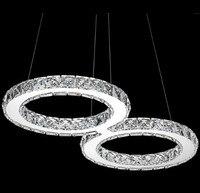 Luxurious Clear Crystal Led Pendant Light Original Design S 8 Shape Pendant Lamp For Dining Room