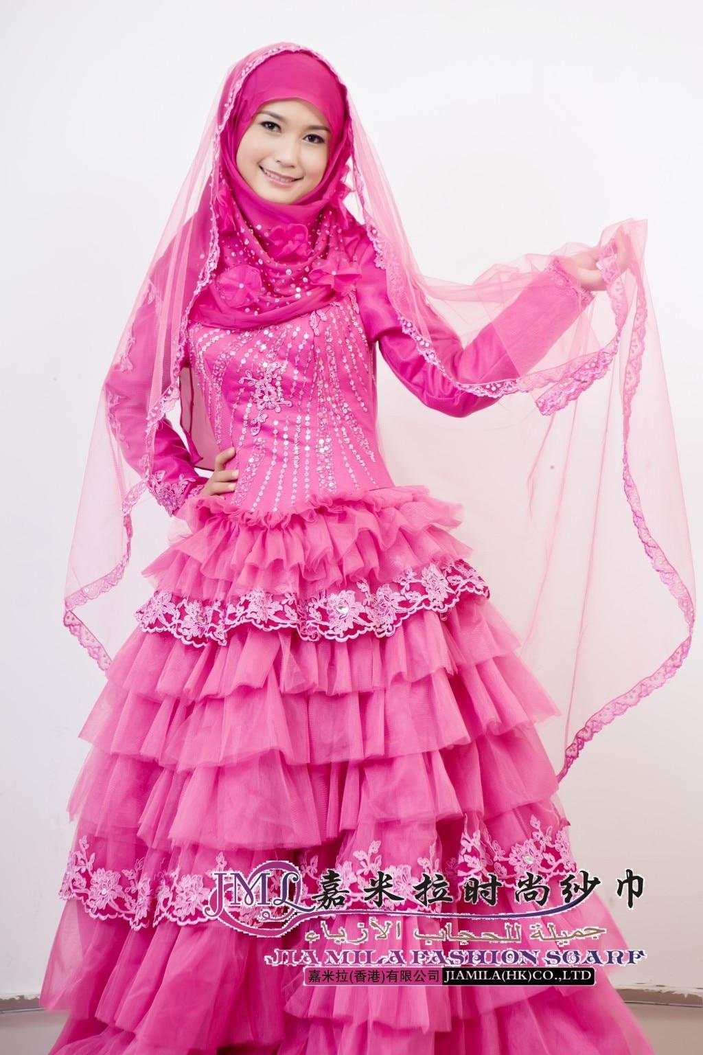 muslim wedding dress Wedding dress muslim wedding gown f in Wedding Dresses from Weddings Events on Aliexpress com Alibaba Group