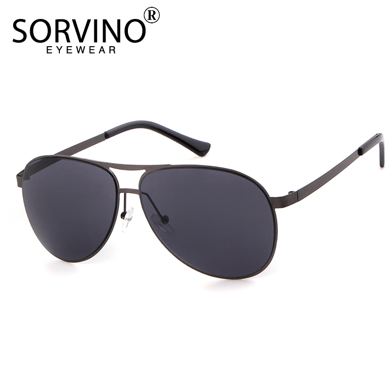 SORVINO Carter Mirror Pilot Sunglasses 2018 Men Brand Designer Sunnies Vintage Summer Pilot Sun Glasses Gold Red Shades SP49