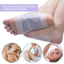 12pcs/box Lavender Detox Foot Pads Patches Adhesive Premium Organic Herbal Cleansing Patches ZBY9999