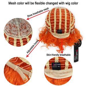 Image 5 - Miss U Hair peluca fiesta de Halloween para hombre, pelo sintético, gris, ondulado